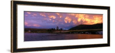 Firehole River Yellowstone National Park WY USA--Framed Photographic Print