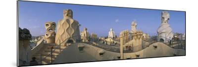 Casa Mila Barcelona Spain--Mounted Photographic Print