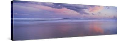 Clouds over the Sea, Main Beach, Surfers Paradise, Queensland, Australia--Stretched Canvas Print