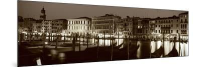 Grand Canal Venice Italy--Mounted Photographic Print