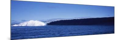 Rough Waves in the Sea, Tahiti, French Polynesia--Mounted Photographic Print