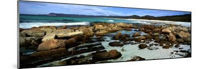 Rocks on the Beach, Friendly Beaches, Freycinet National Park, Tasmania, Australia--Mounted Photographic Print