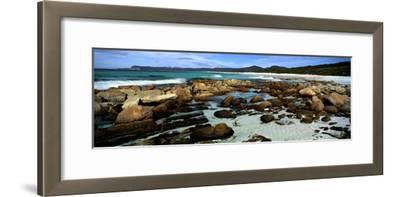 Rocks on the Beach, Friendly Beaches, Freycinet National Park, Tasmania, Australia--Framed Photographic Print