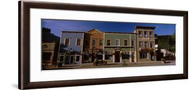 Buildings in a Town, Crested Butte, Gunnison County, Colorado, USA--Framed Photographic Print