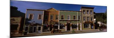 Buildings in a Town, Crested Butte, Gunnison County, Colorado, USA--Mounted Photographic Print