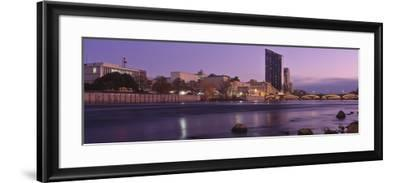 Buildings at the Waterfront, Grand Rapids, Kent County, Michigan, USA--Framed Photographic Print