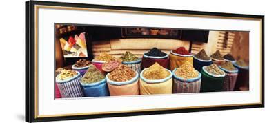Spice Market Inside the Medina in Marrakesh, Morocco--Framed Photographic Print