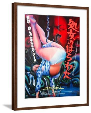 Japanese Movie Poster - Entrails of a Virgin--Framed Giclee Print