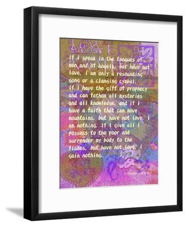 1 Corinthians 131 3 Giclee Print By Cathy Cute Artcom