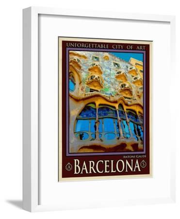 Barcelona Spain 5-Anna Siena-Framed Giclee Print