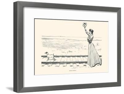 Monday Morning-Charles Dana Gibson-Framed Art Print