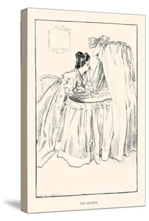 The Mother-Charles Dana Gibson-Stretched Canvas Print