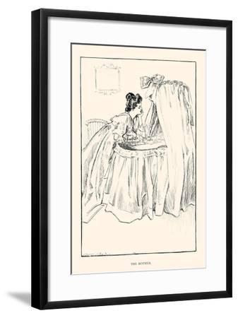 The Mother-Charles Dana Gibson-Framed Art Print