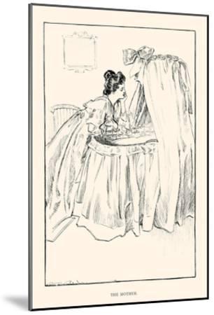 The Mother-Charles Dana Gibson-Mounted Art Print