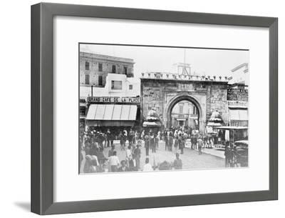 French Gate a Tunis, Tunisia--Framed Art Print