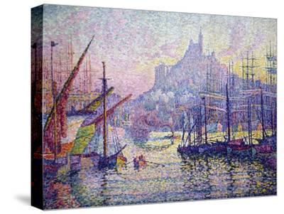 Notre-Dame-De-La-Garde (La Bonne-Mère), Marseilles-Paul Signac-Stretched Canvas Print