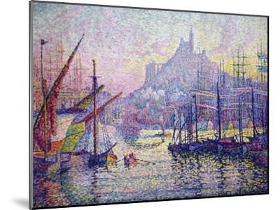Notre-Dame-De-La-Garde (La Bonne-Mère), Marseilles-Paul Signac-Mounted Art Print