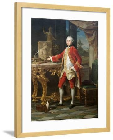 Portrait of a Young Man-Pompeo Batoni-Framed Art Print
