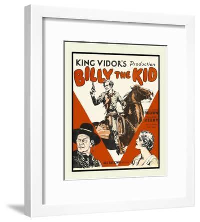 Billy the Kid--Framed Art Print