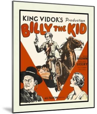Billy the Kid--Mounted Art Print