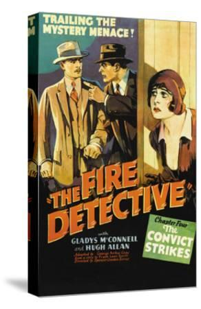 The Fire Detective--Stretched Canvas Print