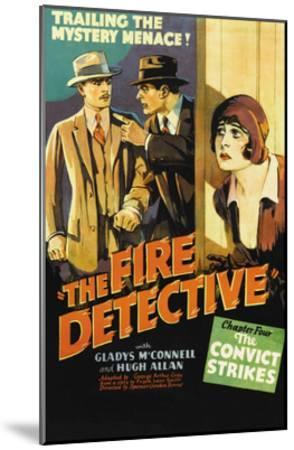 The Fire Detective--Mounted Art Print