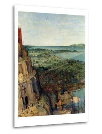 Tower of Babel - Detail-Pieter Breughel the Elder-Metal Print