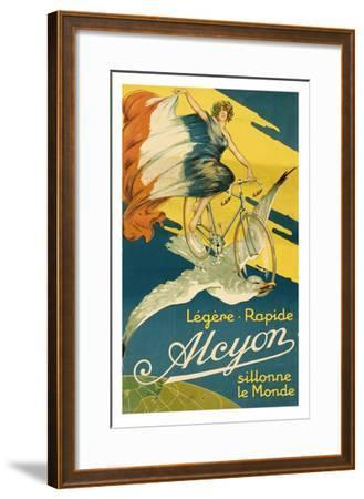 Alcyon Bicycles--Framed Art Print