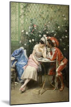 Masqueraders-Raimundo de Madrazo Y Garetta-Mounted Art Print