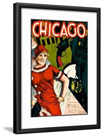 Chicago--Framed Art Print