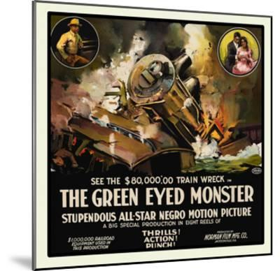 The Green Eyed Monster- Norman Studios-Mounted Art Print