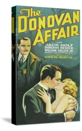 The Donovan Affair--Stretched Canvas Print