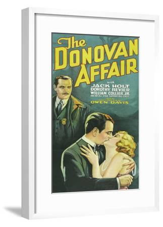 The Donovan Affair--Framed Art Print