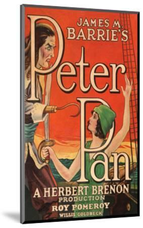 Peter Pan--Mounted Art Print