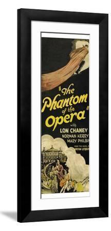 The Phantom of the Opera--Framed Art Print