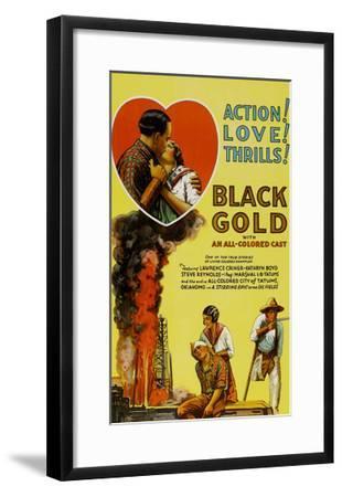 Black Gold--Framed Art Print