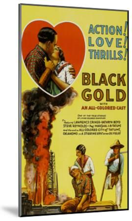 Black Gold--Mounted Art Print