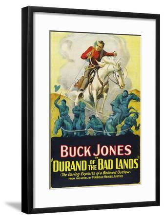 Durand of the Bad Lands--Framed Art Print