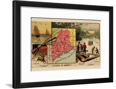 Maine-Arbuckle Brothers-Framed Art Print