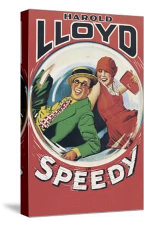 Speedy--Stretched Canvas Print