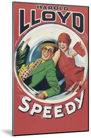 Speedy--Mounted Art Print