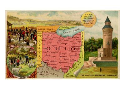 Ohio-Arbuckle Brothers-Framed Art Print
