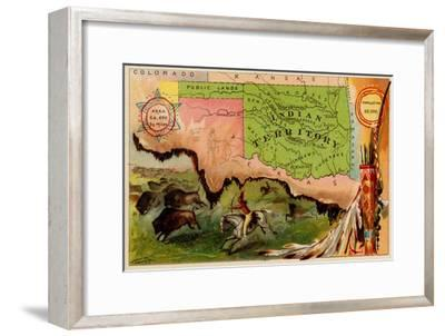Oklahoma-Arbuckle Brothers-Framed Premium Giclee Print