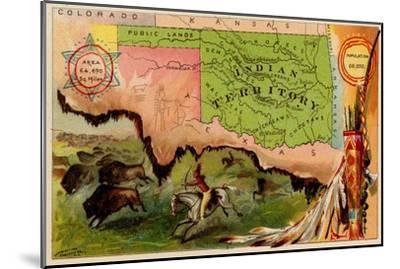 Oklahoma-Arbuckle Brothers-Mounted Premium Giclee Print