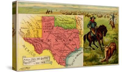 Texas-Arbuckle Brothers-Stretched Canvas Print