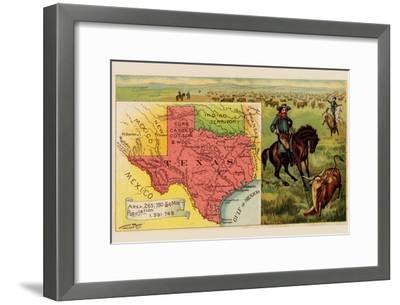 Texas-Arbuckle Brothers-Framed Art Print