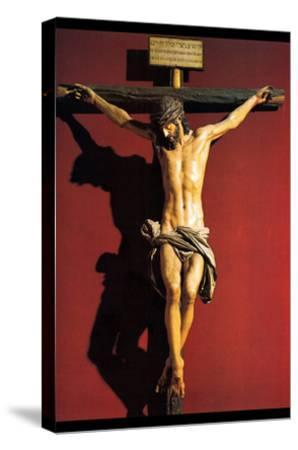Christ on the Cross-Juan Martinez Montanes-Stretched Canvas Print