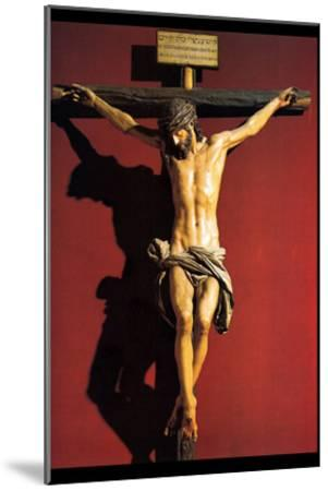 Christ on the Cross-Juan Martinez Montanes-Mounted Art Print
