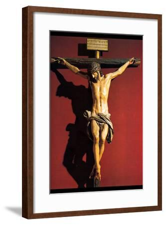 Christ on the Cross-Juan Martinez Montanes-Framed Art Print