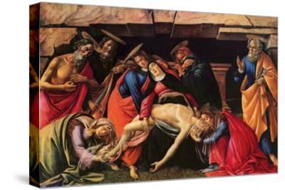 Passion of Christ-Sandro Botticelli-Stretched Canvas Print